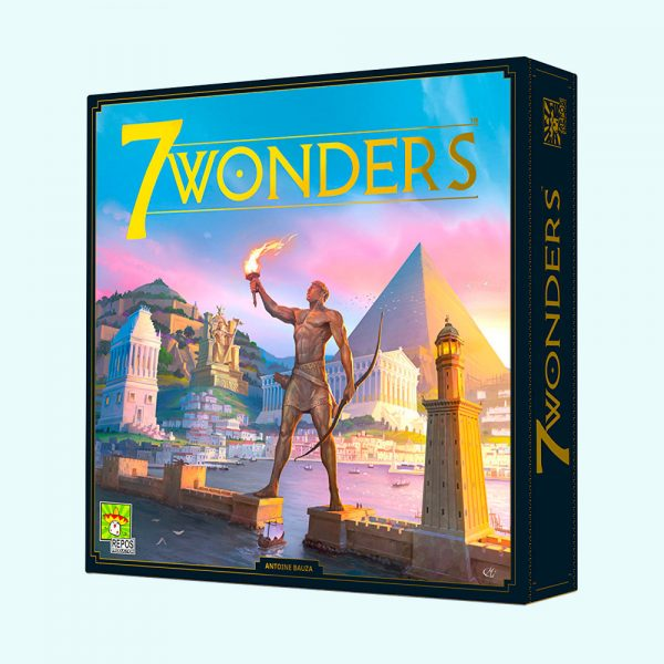 7 wonders édité par repos productions, le jeu de société le plus primé au monde