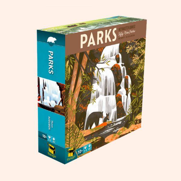 Jeux de société Parks édité par Matagot 10 ans et plus, 1 à 5 joueurs, 45 minutes